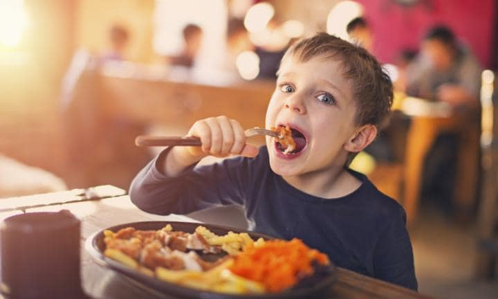 Image result for kid eat