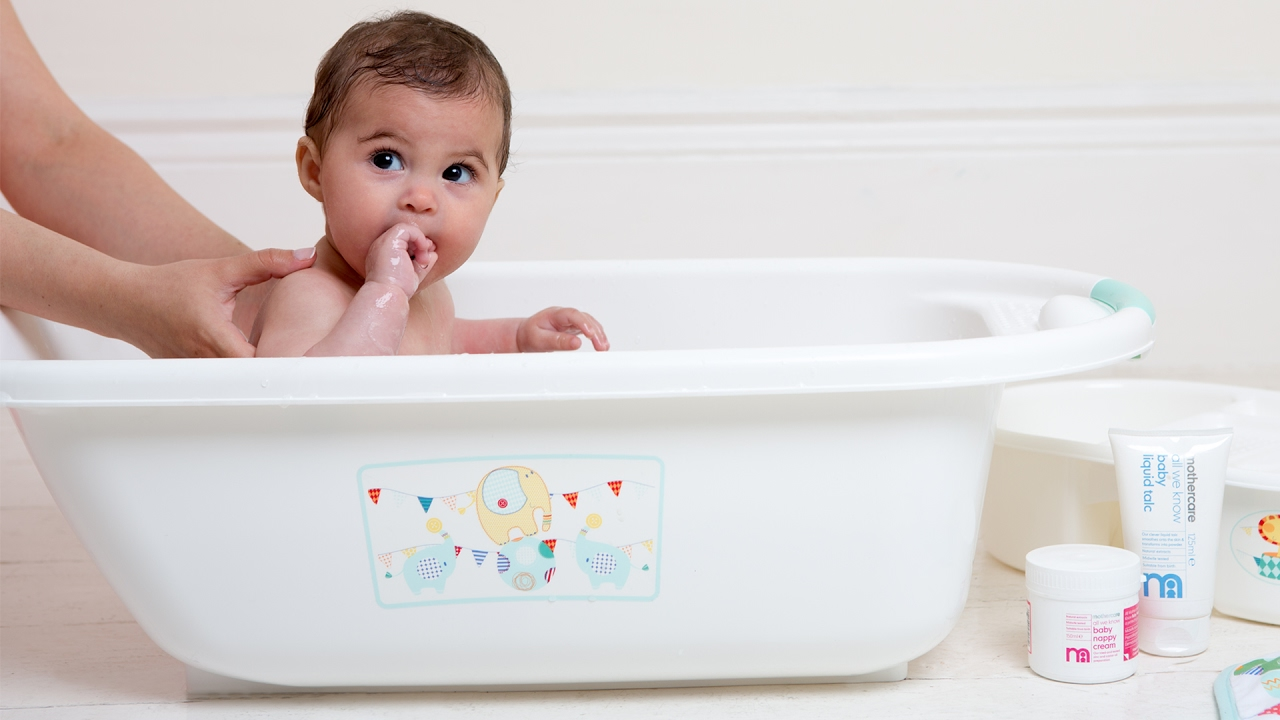 Image result for baby bathing