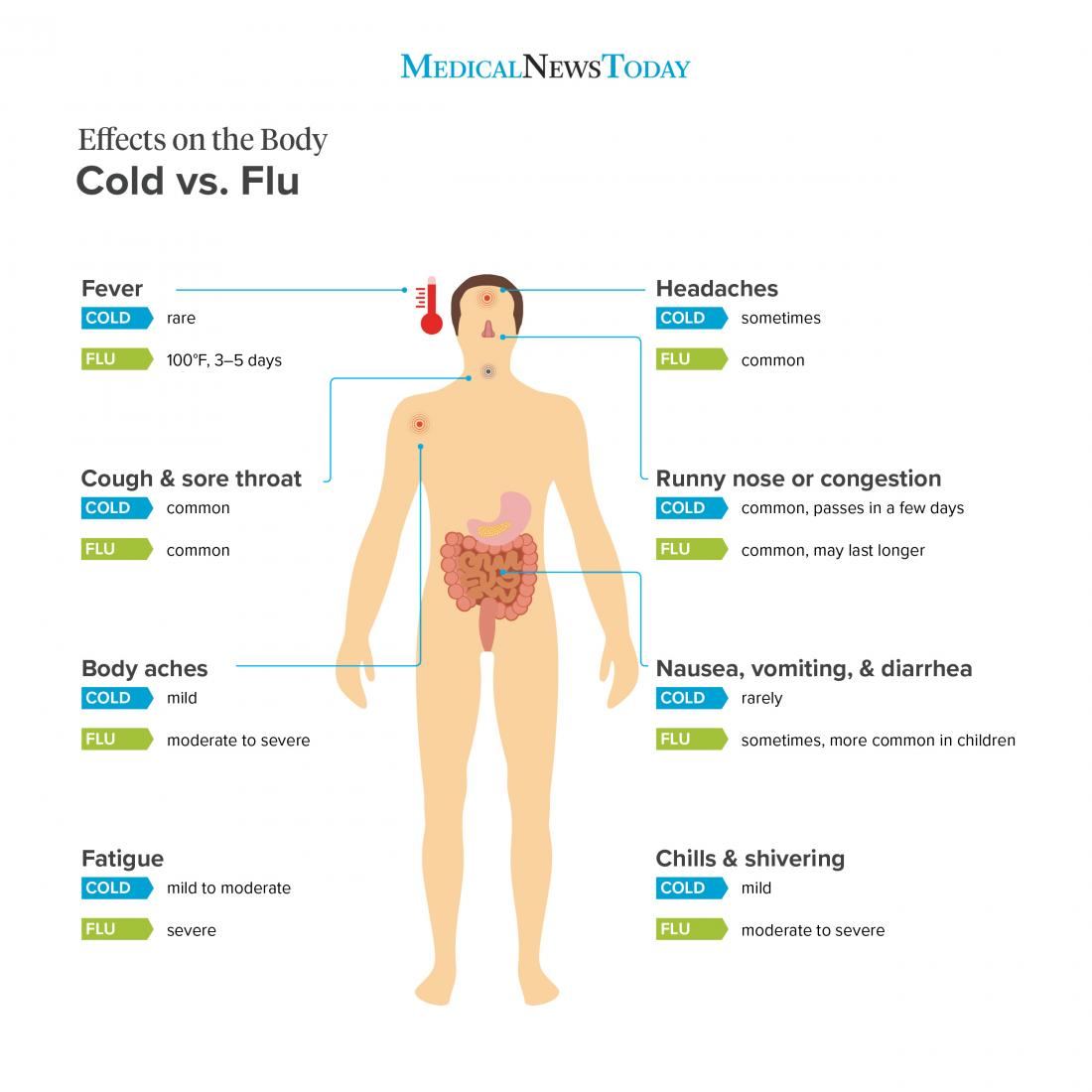 cold vs flu effects on the body infographic br image credit stephen kelly 2018 br<!--mce:protected %0A-->