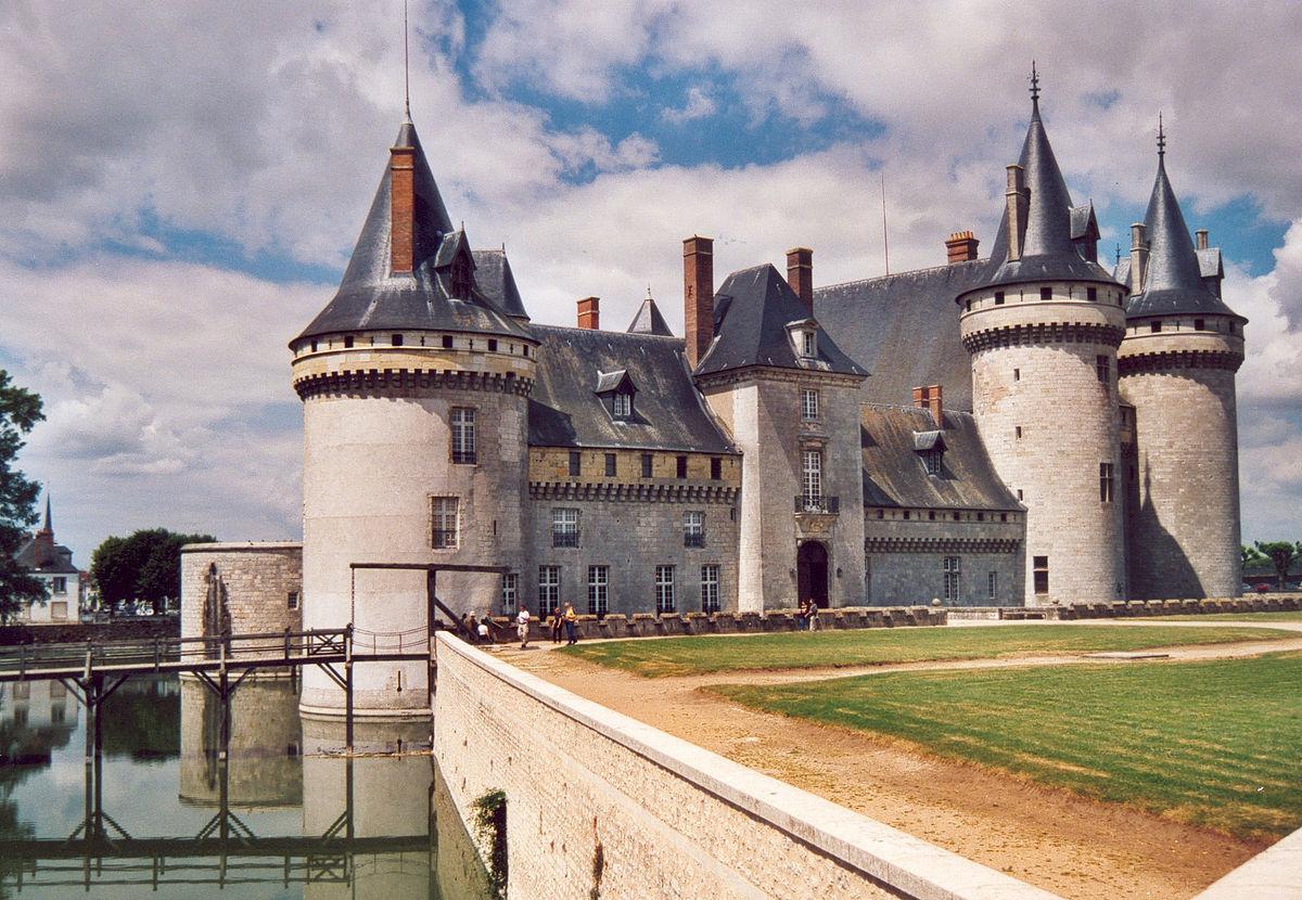 Image result for Chateau de Sully-sur-Loire, Loire Valley, France