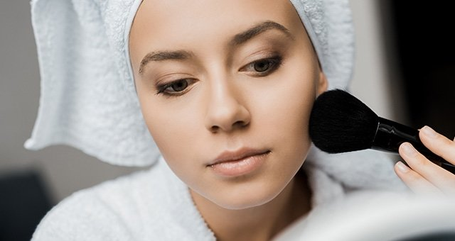 Image result for make up for oily skin
