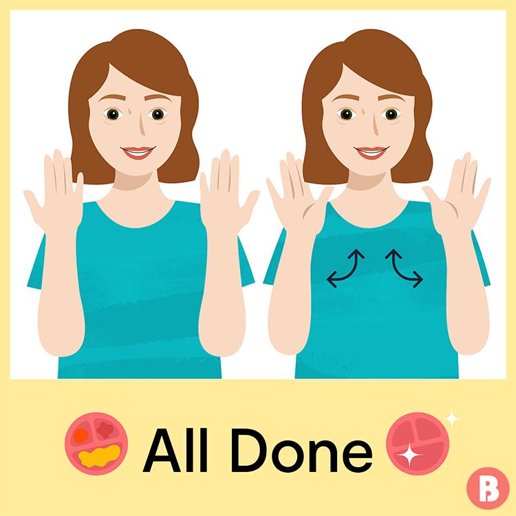 Begini caranya untuk mengajar 25 kata kunci Bahasa Isyarat Bayi