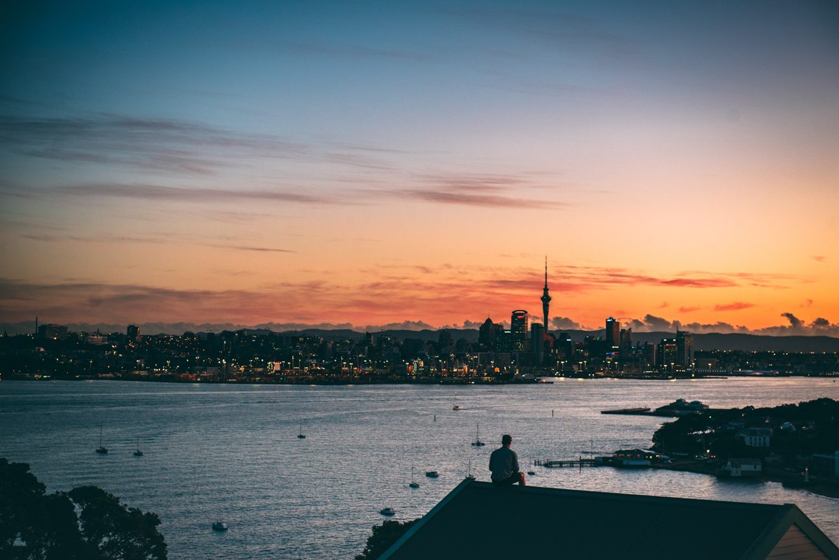 Best Places to Visit in New Zealand - North Head at sunset