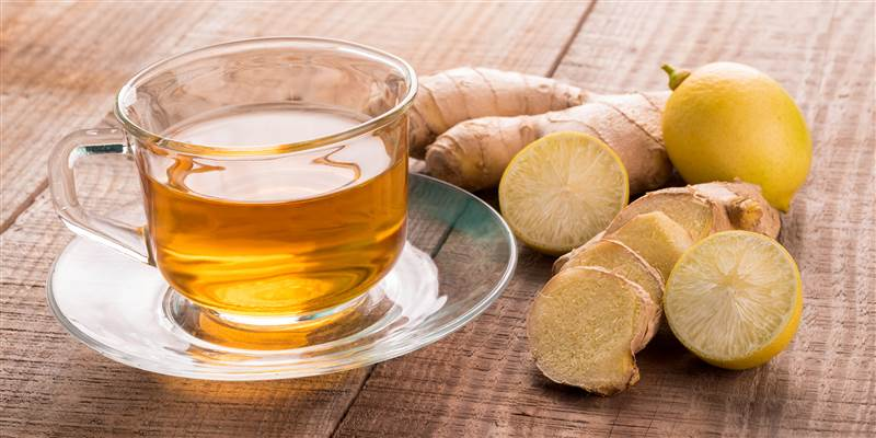 Martha Stewart's Ginger-Lemon Brown Sugar Tea - TODAY.com