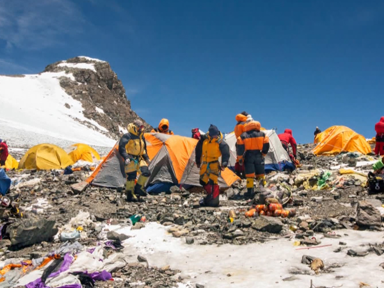 60 years of climbing leaves Mount Everest polluted, crowded