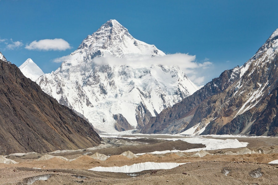 Selain Everest berikut adalah 10 gunung tertinggi di Dunia